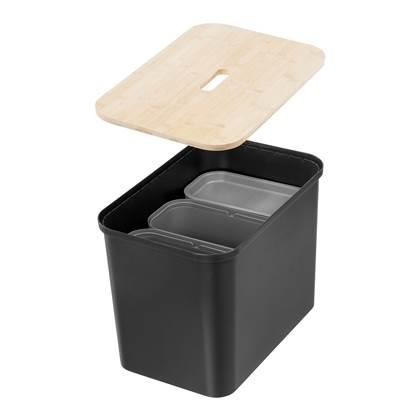 Orthex Smart Collect Afvalscheider - Zwart