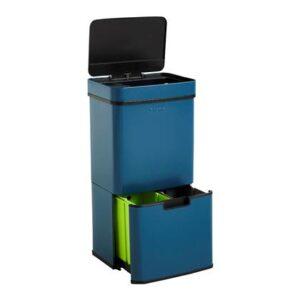 Homra Nexo Afvalemmer met Sensor 72 Liter (48+12+12 Liter) - Blauw