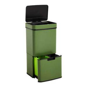 Homra Nexo Afvalemmer met Sensor 72 Liter (48+12+12 Liter) - Groen
