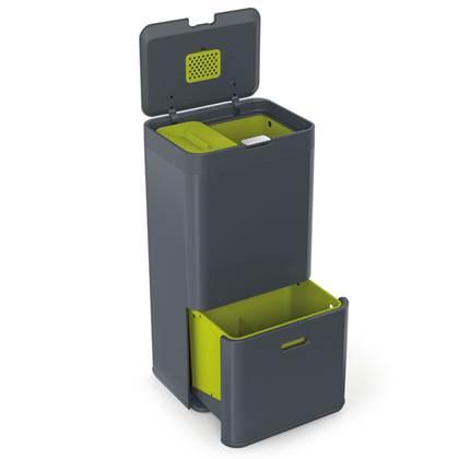 Joseph Joseph Intelligent Waste Totem Afvalemmer 60 Liter (36+24 L)