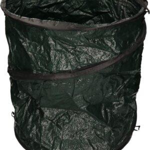 Groene tuinafvalzak opvouwbaar 115 liter - Tuinafvalzakken - Tuin schoonmaken/opruimen - Tuinonderhoud