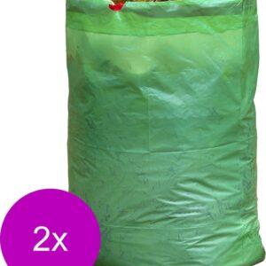 Nature Tuinafvalzak - Containers - 2 x 45x45x70 cm Groen 3 stuks