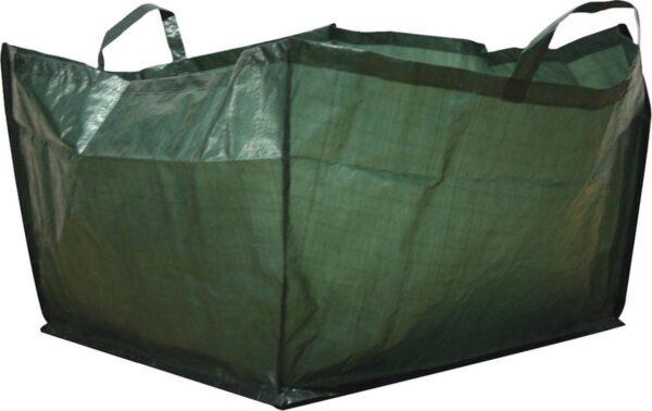 Tuinafvalzak vierkant 190 liter - set van 5 stuks