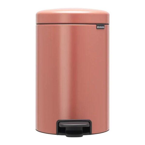 Brabantia NewIcon 12 liter - Terracotta Pink