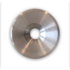 BinBin vlamwerend| vlamdovend aluminium afvalbak deksel met 20 cm gat| geschikt voor een 200 Liter olievat- vuurton
