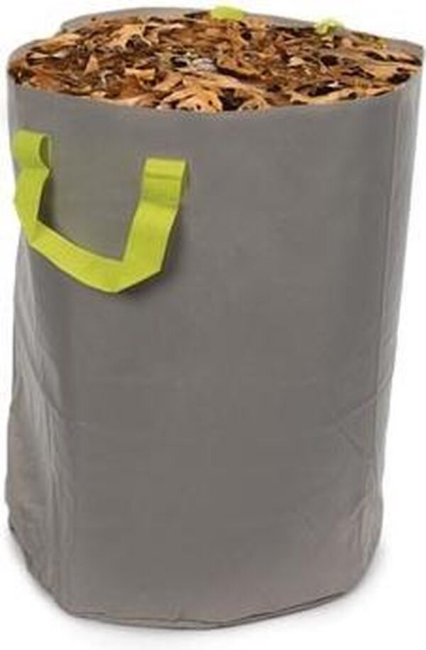 Perel Tuinafvalzak 100 Liter 47 X 58 Cm Polyester Grijs/groen