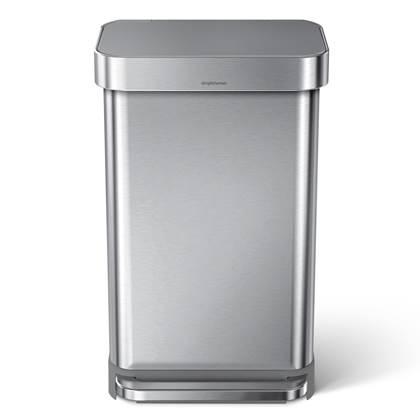 Simplehuman Afvalemmer Rectangular 45 liter