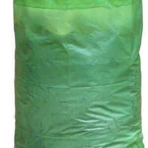Tuinafvalzak met handvatten kleur groen 120 L