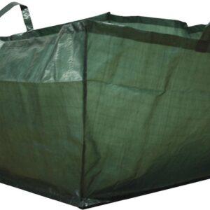 Tuinafvalzak vierkant 190 liter - set van 3 stuks