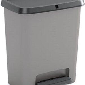 Kis Compatta Prullenbak 15 liter grijs