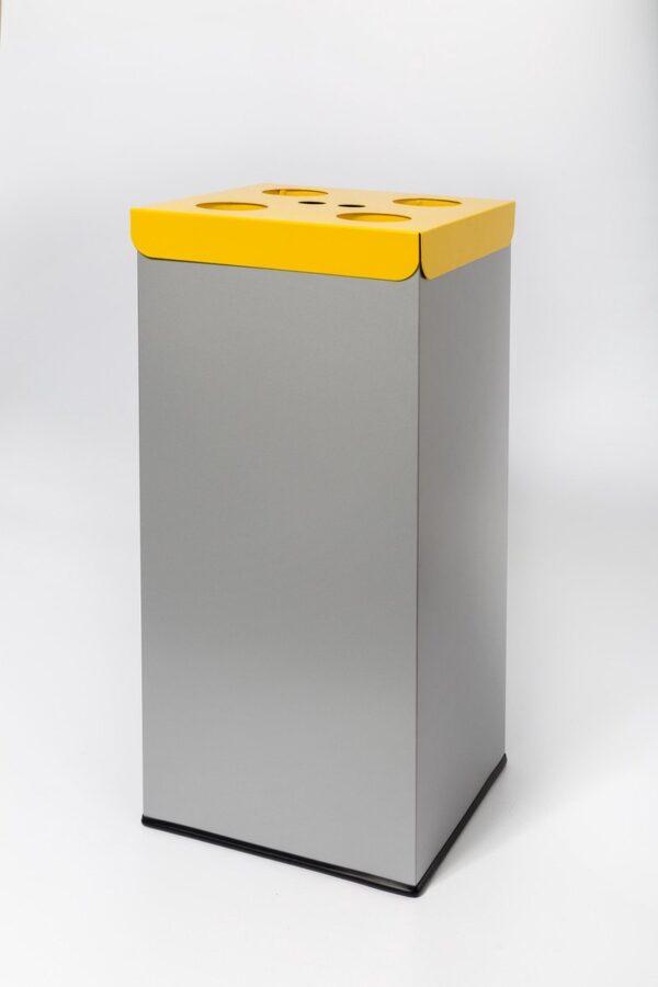Easybin EKO Modulair 50 Liter afvalscheiding koffiebekers GEEL