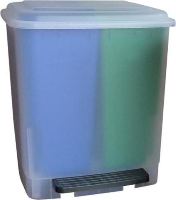 Easybin Recycling Duo Pedaalemmer - 2 x 10l