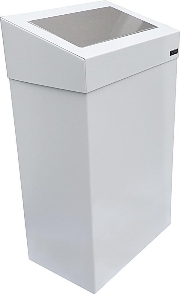 Easybin Wandafvalemmer Push - 18 l - Wit