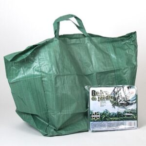 Handige Tuintas - Herbruikbaar Groene tuinafvalzak opvouwbaar 90 liter - Tuinafvalzak - Tuin schoonmaken/opruimen