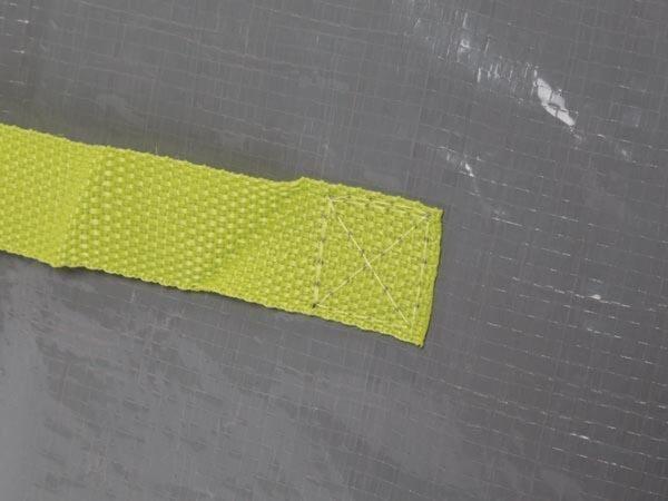 Perel Tuinafvalzak 100 Liter 47 X 45 Cm Polyetheen Grijs/groen