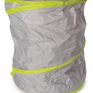 Perel Tuinafvalzak 166 Liter 55x70 Cm Polyester Grijs/groen