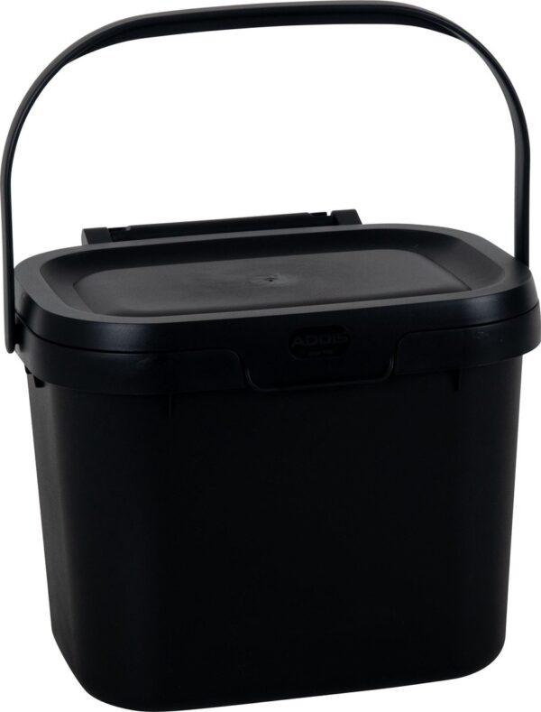 Keuken Caddy, het slimste opbergbakje of GFT afvalbakje van je keuken/ Zwart