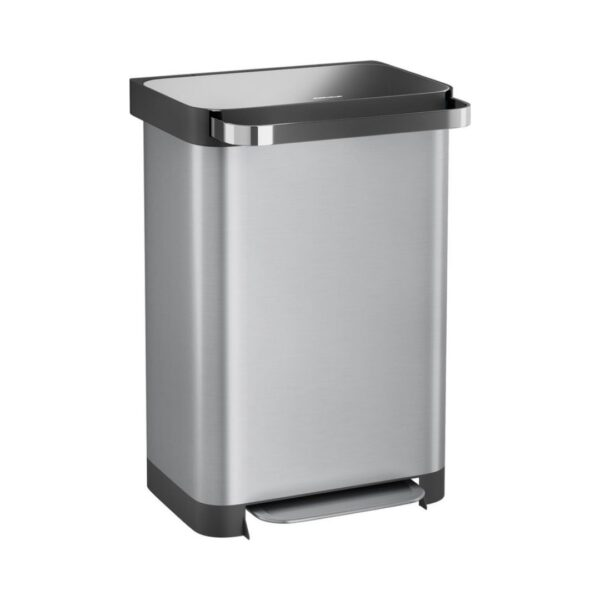 stangvollby osdall pedaalemmer 50 liter zilver