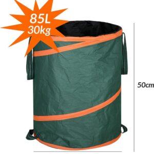 Tuinafvalzak set van 3 - 3 x 85 liter, bladerzak - tuinzak - pop-up zak