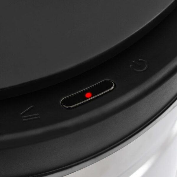 vidaXL Prullenbak met automatische sensor 60 L roestvrij staal